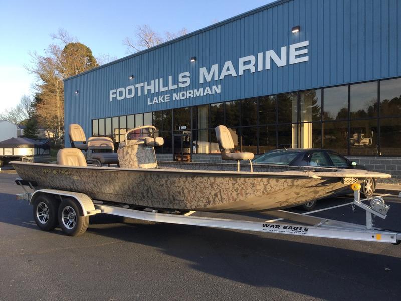 New 2018 War Eagle 2170 Blackhawk Fishing Boat In