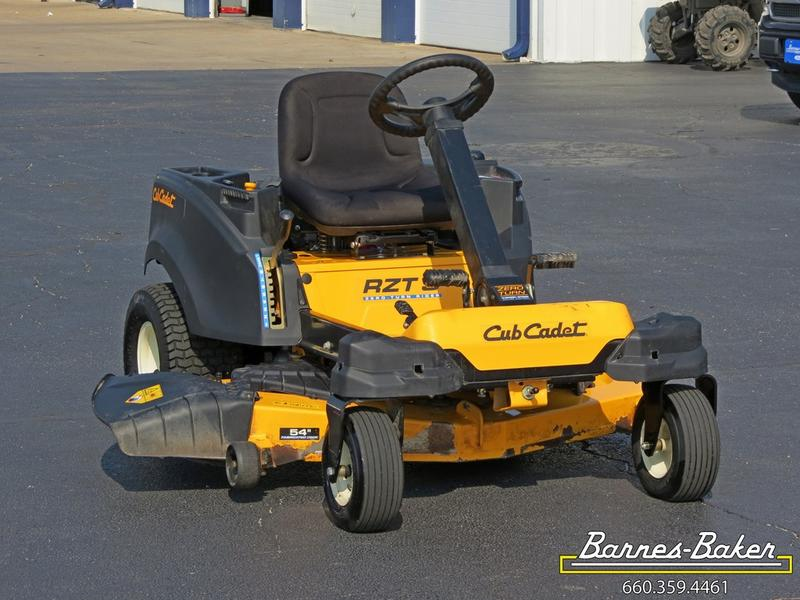 2016 Cub Cadet® RZT™ S Series S 54 KW with Fabricated Deck ...