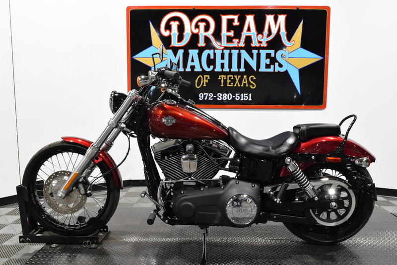 Dream Machines Of Texas 2016 Harley-davidson Fxdwg - Dyna Wide Glide 1399 Miles - Used Harley ...