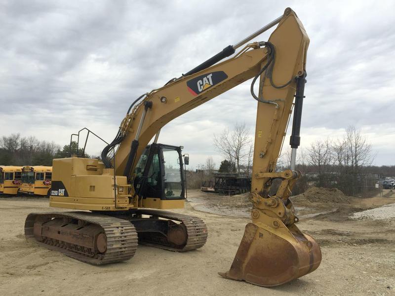 2012 CAT 328D LCR Excavator