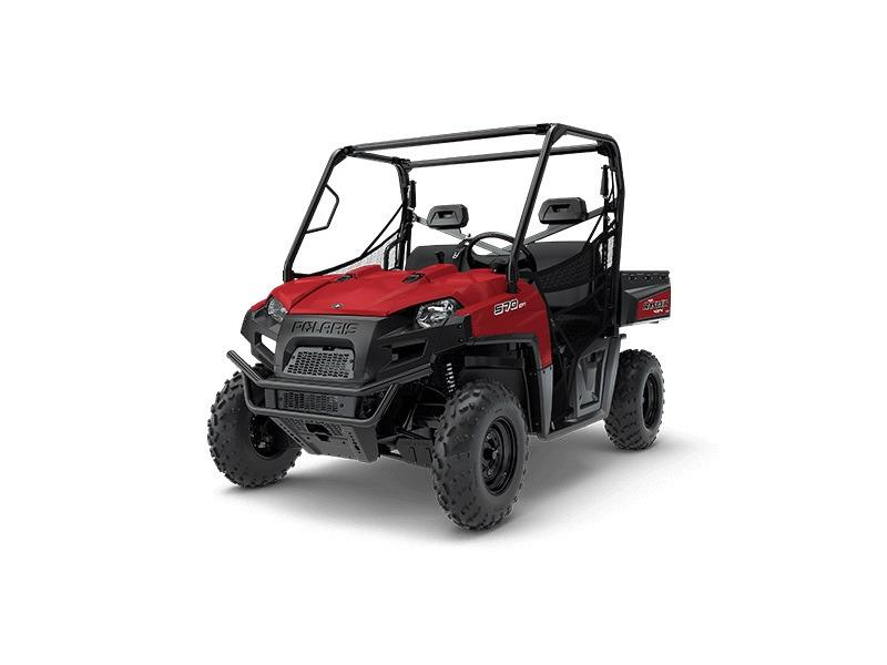 2018 Polaris Ranger-570-Full-Size-Solar-Red
