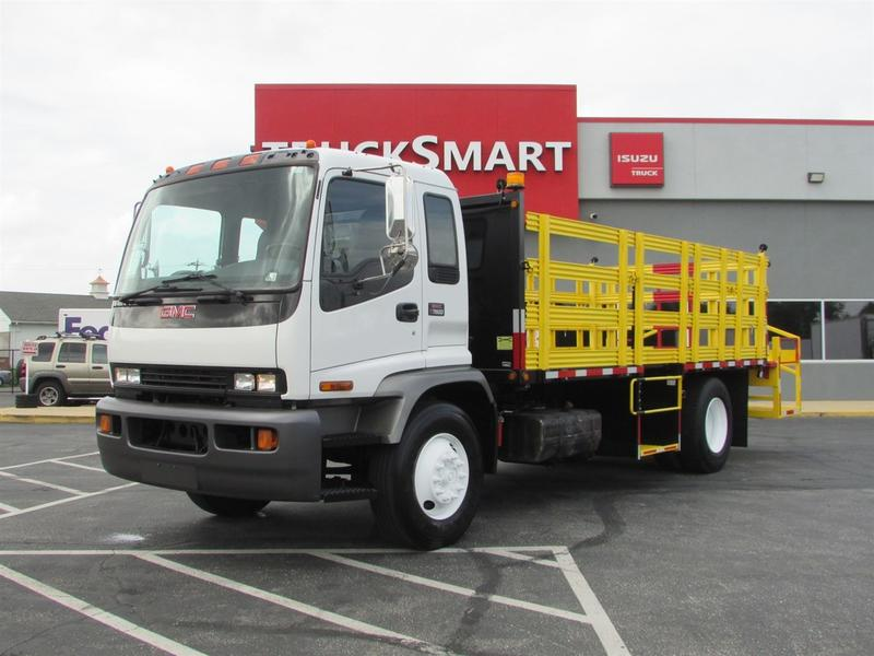 Flatbed trucks for sale truck n trailer magazine 2007 gmc t7500 traffic cone truck flatbed truck 575321 flatbed truck publicscrutiny Choice Image