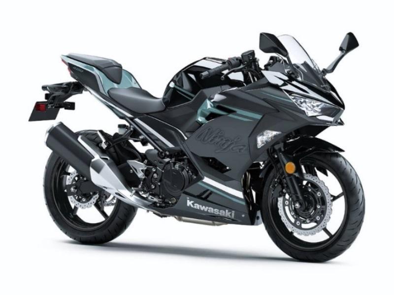 2020 Kawasaki Ninja 400 ABS Spark Black Magnetic Dark Gray Phant for sale 217643