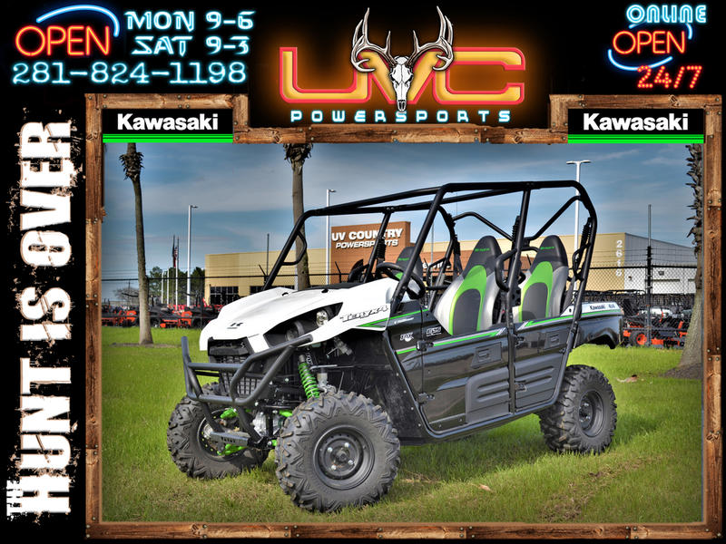 2019 KAWASAKI INCLUDES A FREE KAWASAKI ATV Teryx4™ WITH A