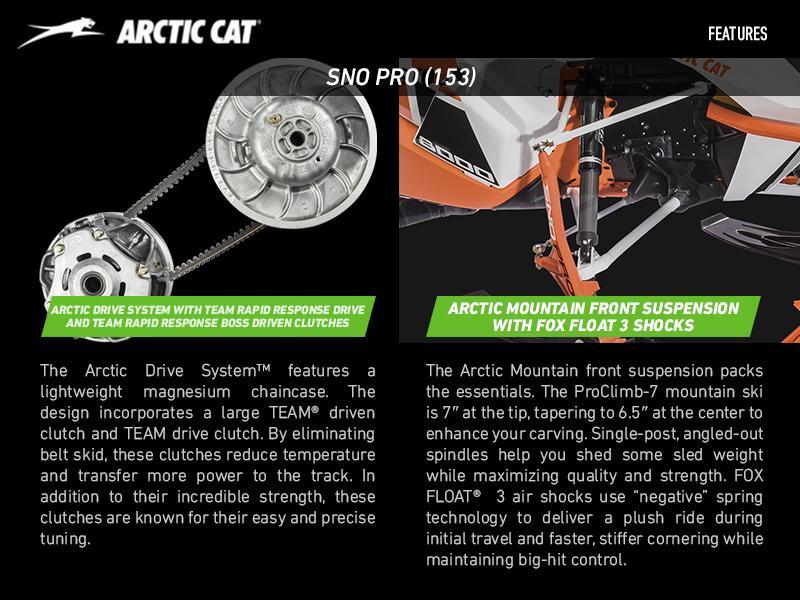 2017 Arctic Cat® M 6000 SNO PRO (153) | Enumclaw Powersports