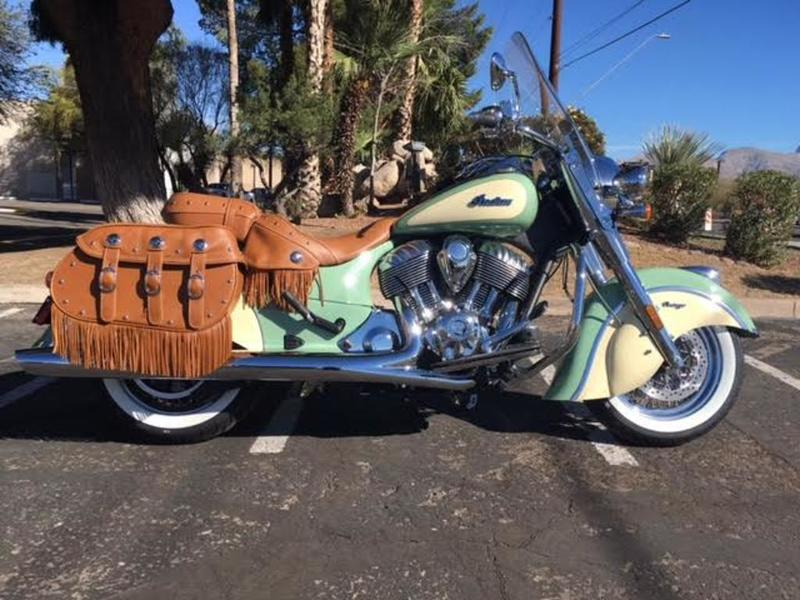 2019 Indian Motorcycle® Chief® Vintage Willow Green / Ivory