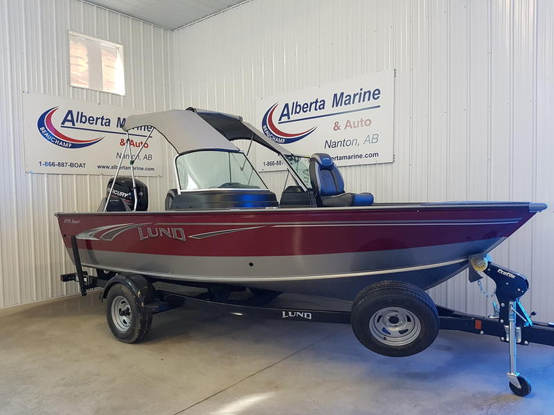 2018 LUND IMPACT 1775 SPORT for sale