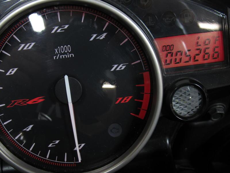 2014 Yamaha R6 7