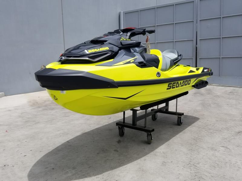 2019 Sea-Doo RXT®-X® 300 IBR & Sound System Neon Yellow and Lava