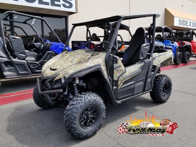 2019 Yamaha Wolverine X2 R-Spec Realtree Edge | RideNow Craig