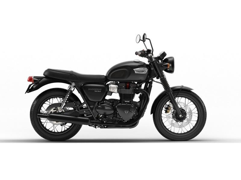 2018 Triumph Bonneville T100 Black Jet Black for sale 59465