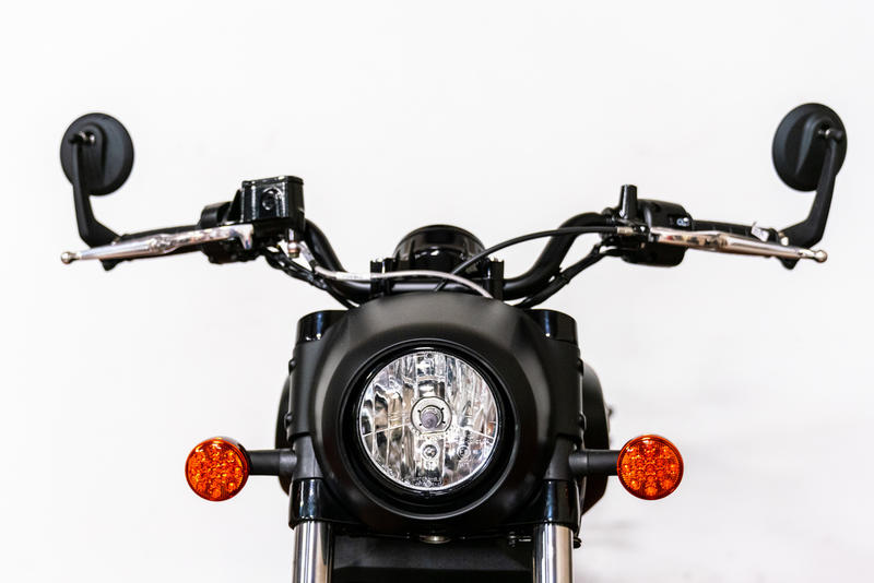 2020 Indian Motorcycle Scout Bobber Abs Thunder Black