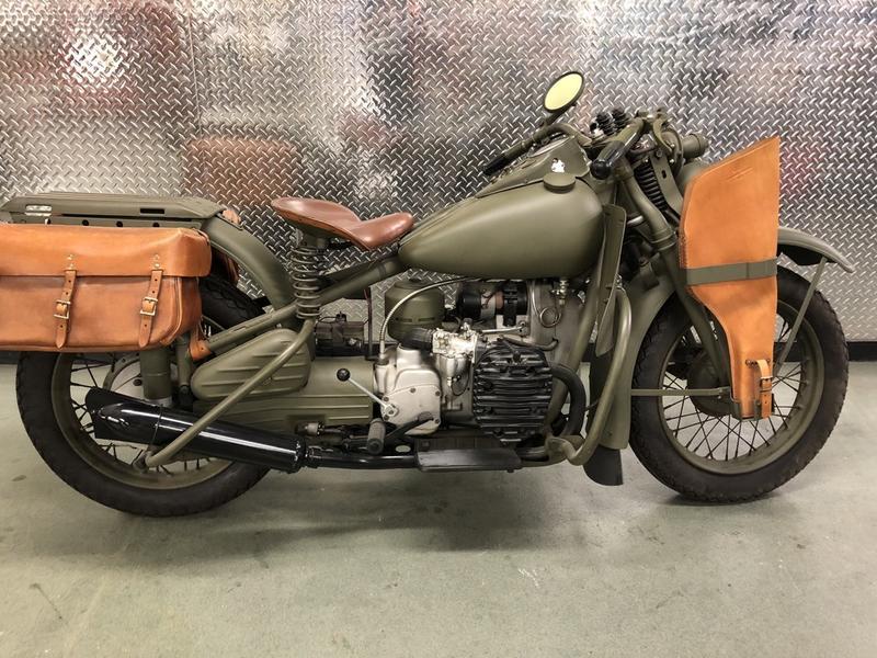 1942 Harley-Davidson XA Military | Yesterday's Restoration
