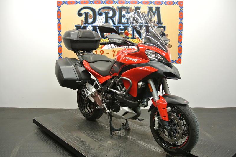 2014 Ducati Multistrada 1200 S Touring | Dream Machines Indian