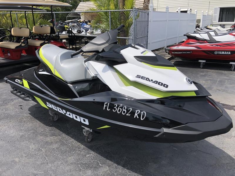 2016 Sea Doo GTI SE 130 Riva Motorsports Miami