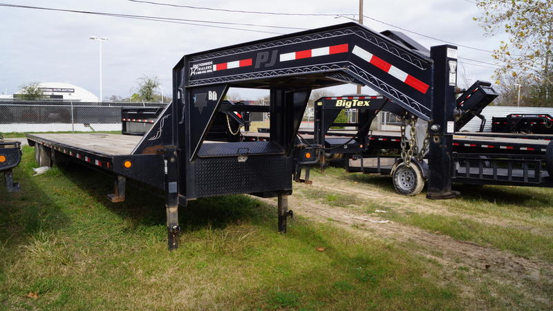2012 pj trailers 40 ft classic flatbed w duals h21391 nationwide trailers. Black Bedroom Furniture Sets. Home Design Ideas