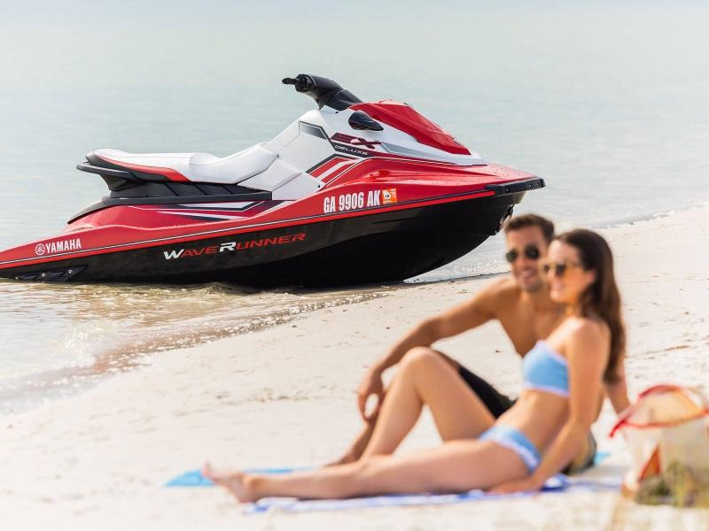 2019 Yamaha boat for sale, model of the boat is EX Deluxe & Image # 2 of 3