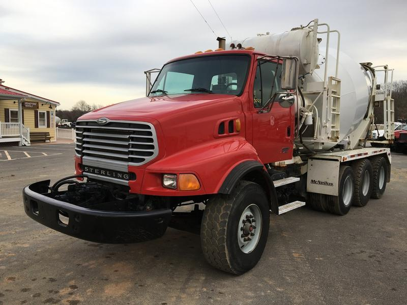 2007 STERLING L9500 CONCRETE MIXER TRUCK #611058