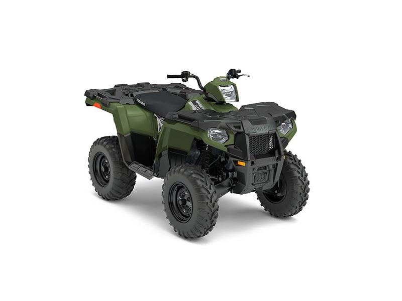 2017 Polaris Sportsman-450-H-O-EPS-Sage-Green