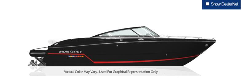 2019 MONTEREY 238SS for sale