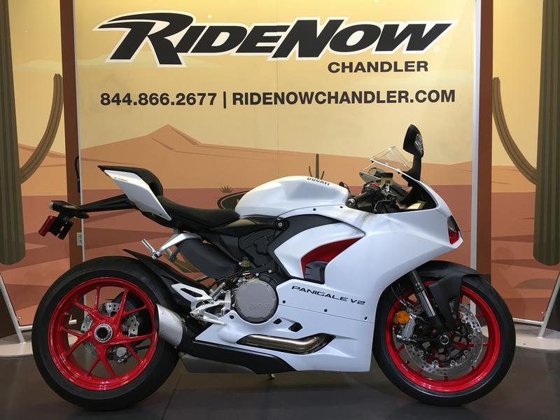 2021 Ducati Panigale V2 White Rosso Livery | RideNow ...