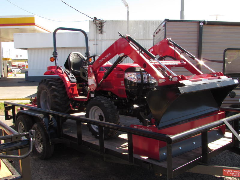 Mahindra Tractors For Sale Austin Tx >> Tractor Packages For Sale near Houston, College Station in Sealy, Texas - Cliff Jones Mahindra ...