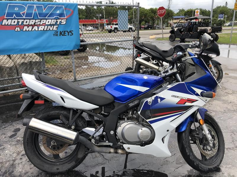 Marvelous 2009 Suzuki Gs500F Riva Motorsports Marine Of The Keys Camellatalisay Diy Chair Ideas Camellatalisaycom