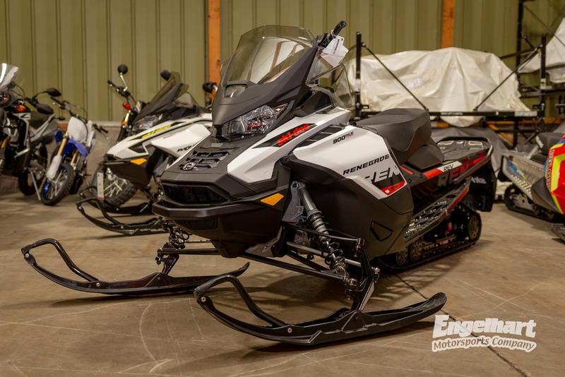 2019 Ski-Doo Renegade® Adrenaline 900 ACE Turbo White & Black