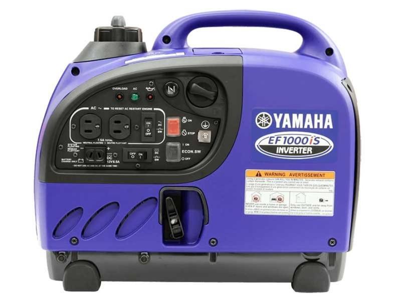 2019 Yamaha Power Portable Generators EF1000iS | The Power