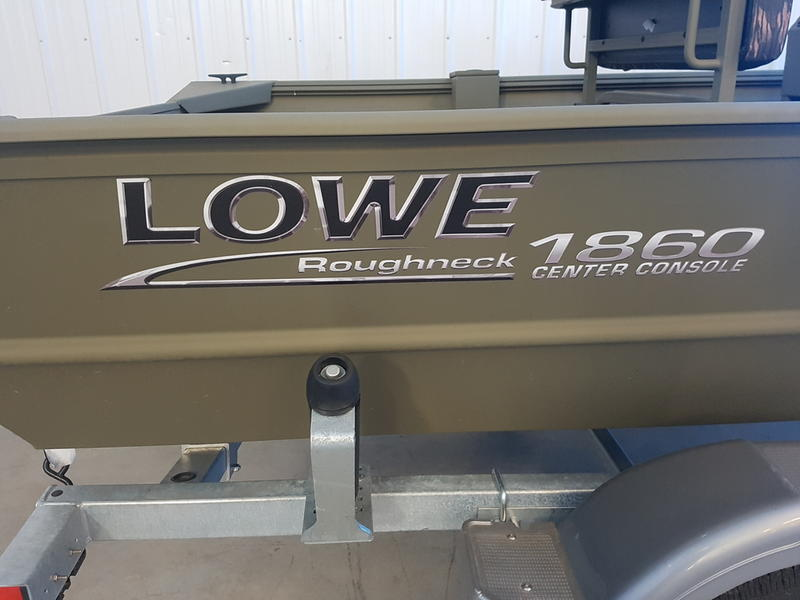 2018 Lowe boat for sale, model of the boat is Roughneck 1860 CC & Image # 8 of 8