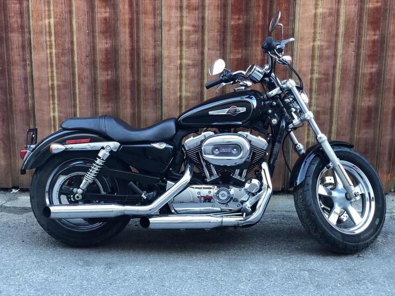 2012 Harley-Davidson® XL1200C - Sportster® 1200 Custom HA25673