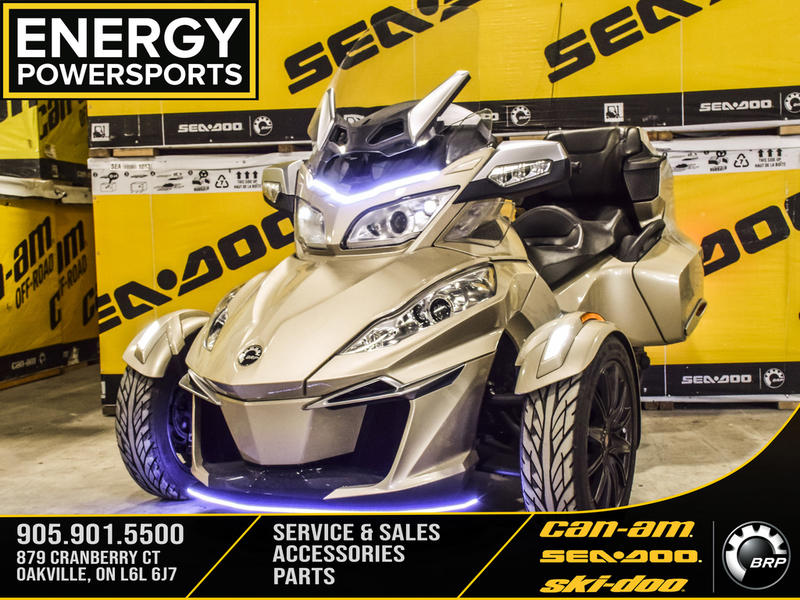 2017 Can-Am ATV Spyder® RT 6-Speed Semi-Automatic (SE6)