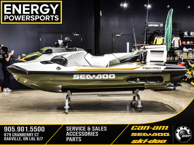 2019 Sea Doo PWC boat for sale, model of the boat is Fish Pro™ IBR & Sound System & Image # 2 of 17