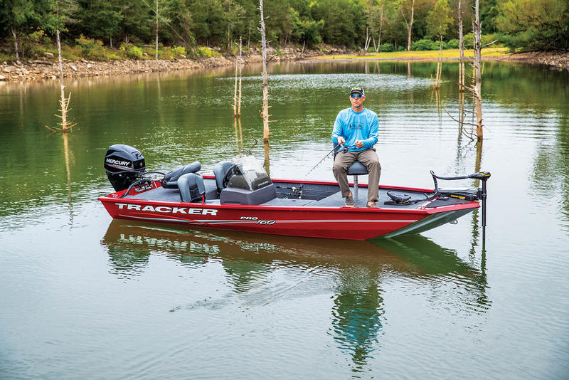 New  2020 Tracker Boats Pro 160 Bass Boat in Hammond, Louisiana