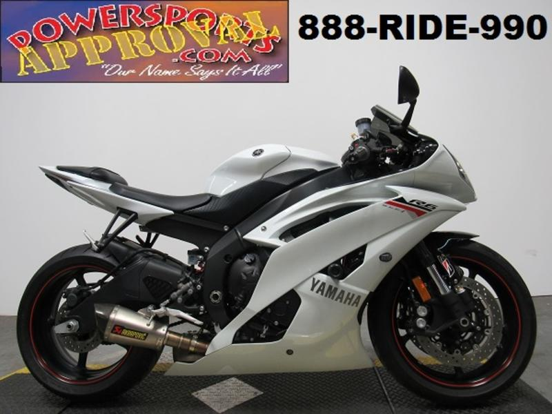 2012 Yamaha YZF-R6 1