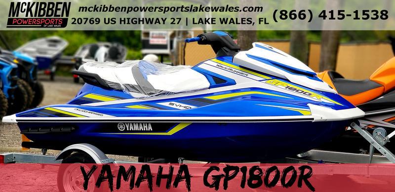 2019 Yamaha GP1800R | Mckibben Powersports Lake Wales