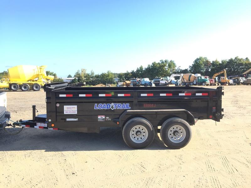 2017 LOAD TRAIL DT14 End Dump Trailer