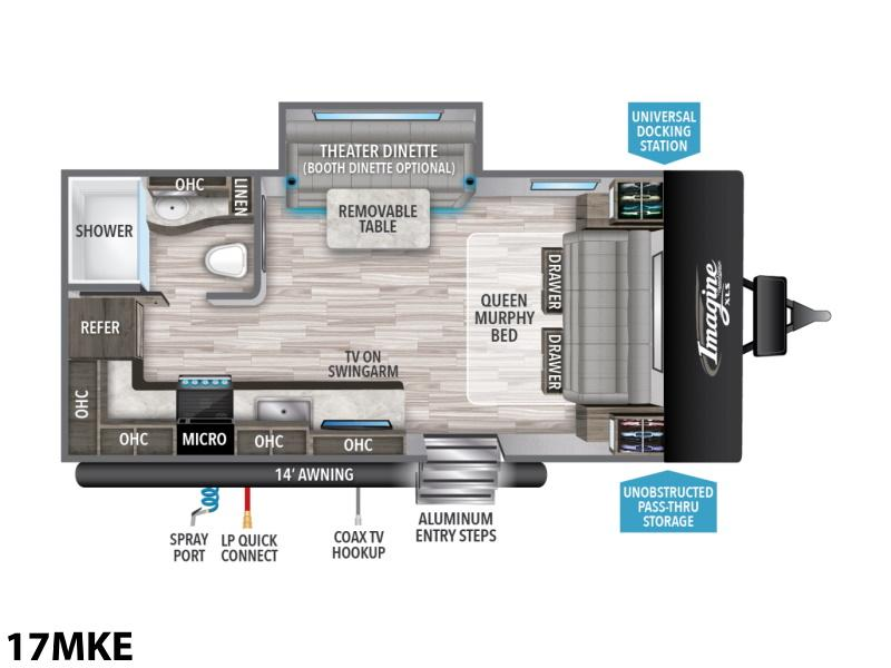 2021 Grand Design Imagine Xls 17mke Boyer Rv Center