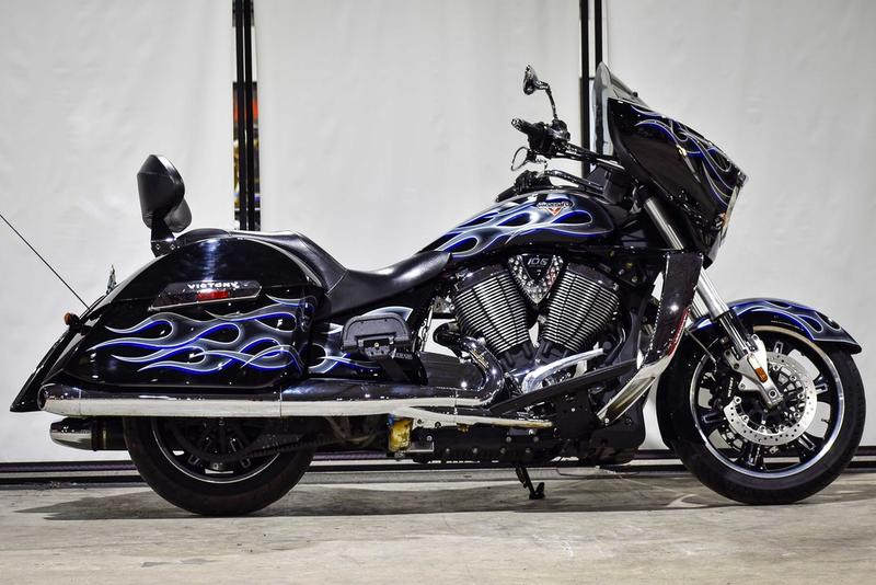 2013 Victory Motorcycles® Cross Country® Midnight Metallic