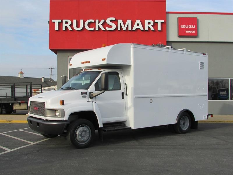 2005 GMC C4500 13' Enclosed Utility Service - Utility Truck