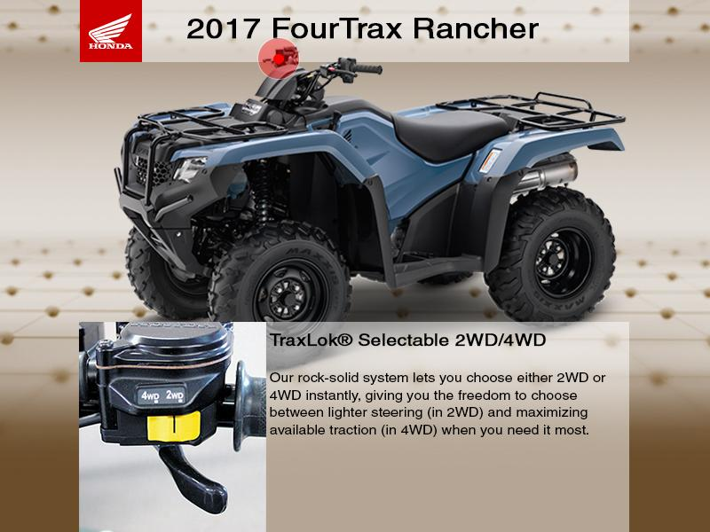 2018 Honda® FourTrax® Rancher® 4x4 Automatic DCT IRS