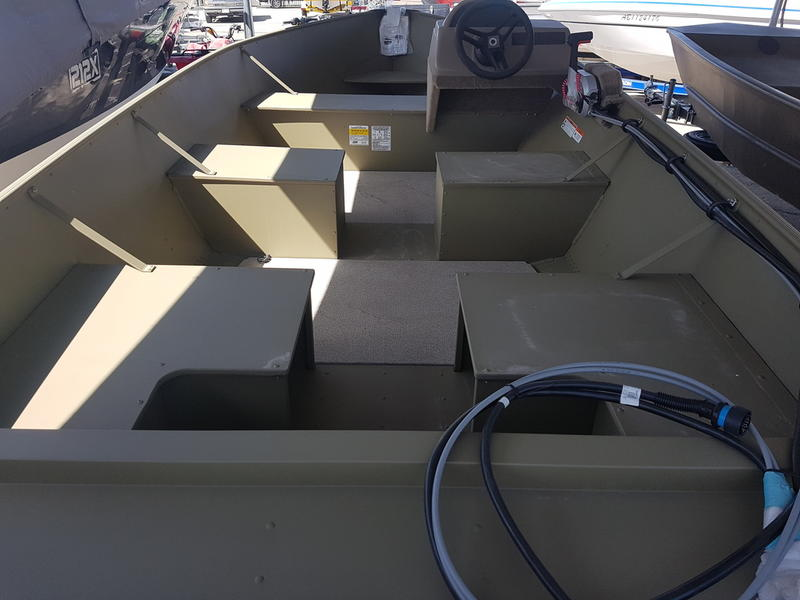2018 Lund boat for sale, model of the boat is SSV 16 & Image # 3 of 3