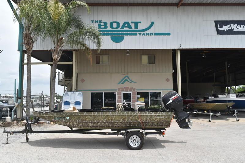 Used  2013 Alumacraft 16' All Welds MV 1650 SC Jon Boat in Marrero, Louisiana