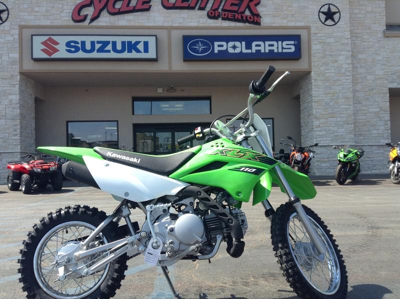 2020 Kawasaki KLX®110   Cycle Center of Denton on