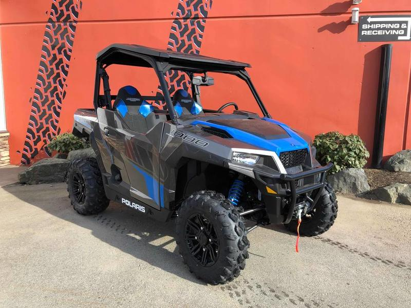 Polaris General 1000 >> 2019 Polaris General 1000 Eps Deluxe Titanium Metallic