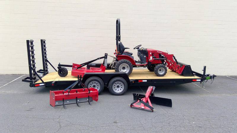 2020 Mahindra Emax 22l Hst Package W Trailer Economy