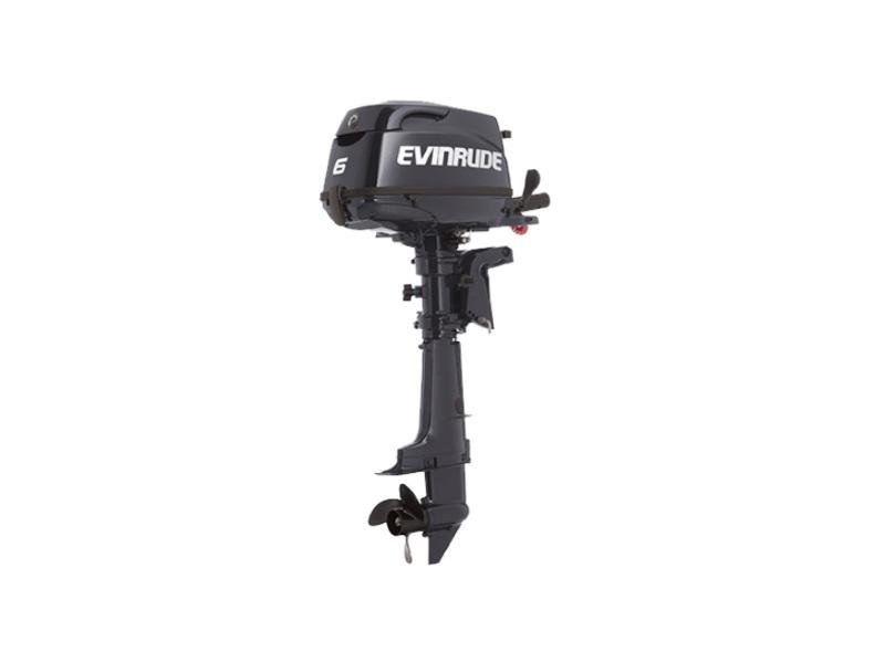 2018 EVINRUDE PORTABLES 6 HP E6RGL4 GRAPHITE for sale