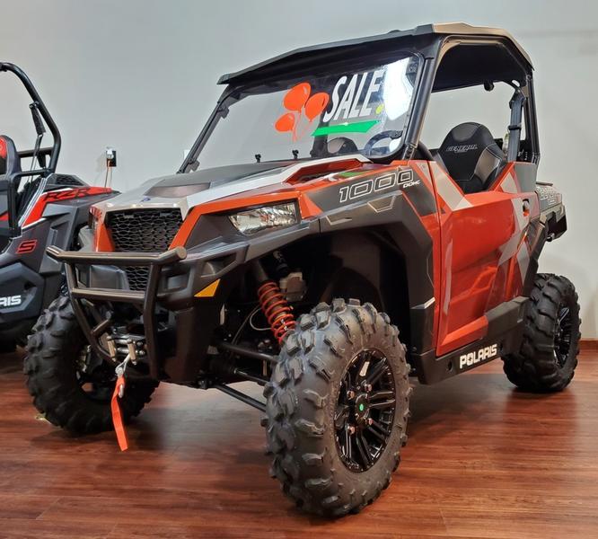 New  2019 Polaris® General® 1000 EPS Deluxe Orange Rust Golf Cart / Utility in Houma, Louisiana