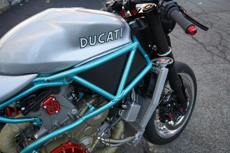 2012 Ducati Cafe Racer 1199 Panigale   Hudson Valley Motorcycles
