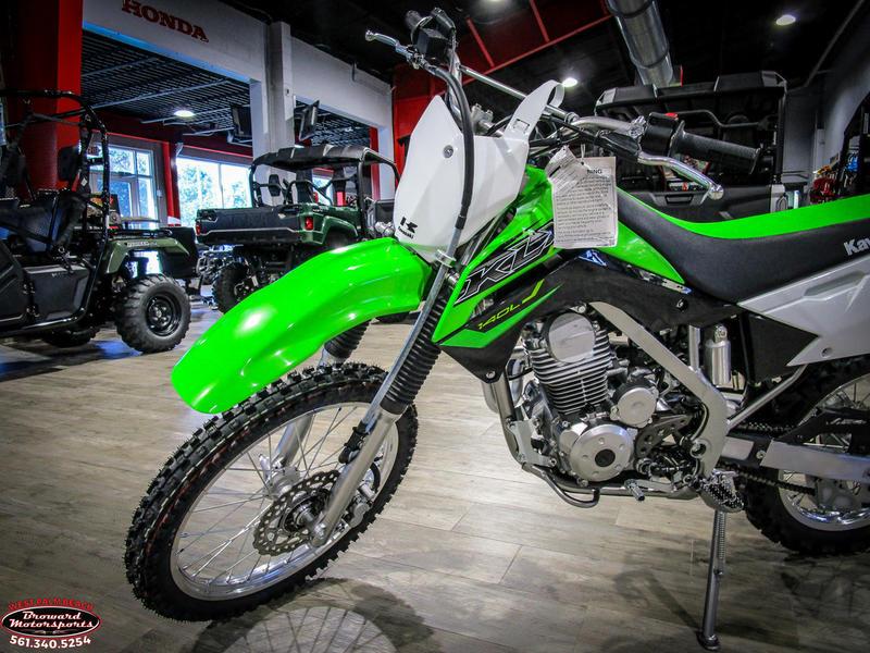 2019 Kawasaki KLX 140L 11
